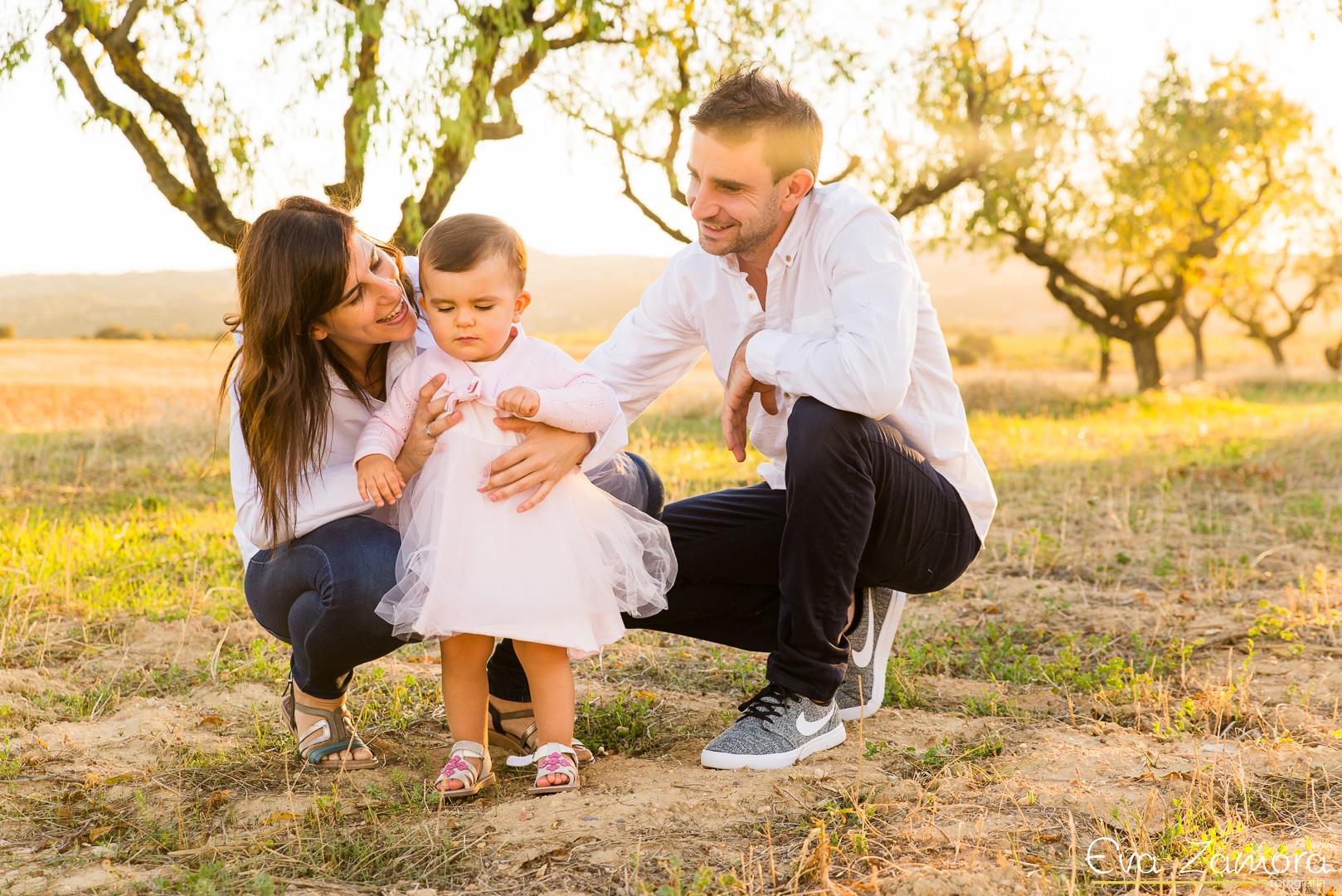 reportaje fotográfico de familia