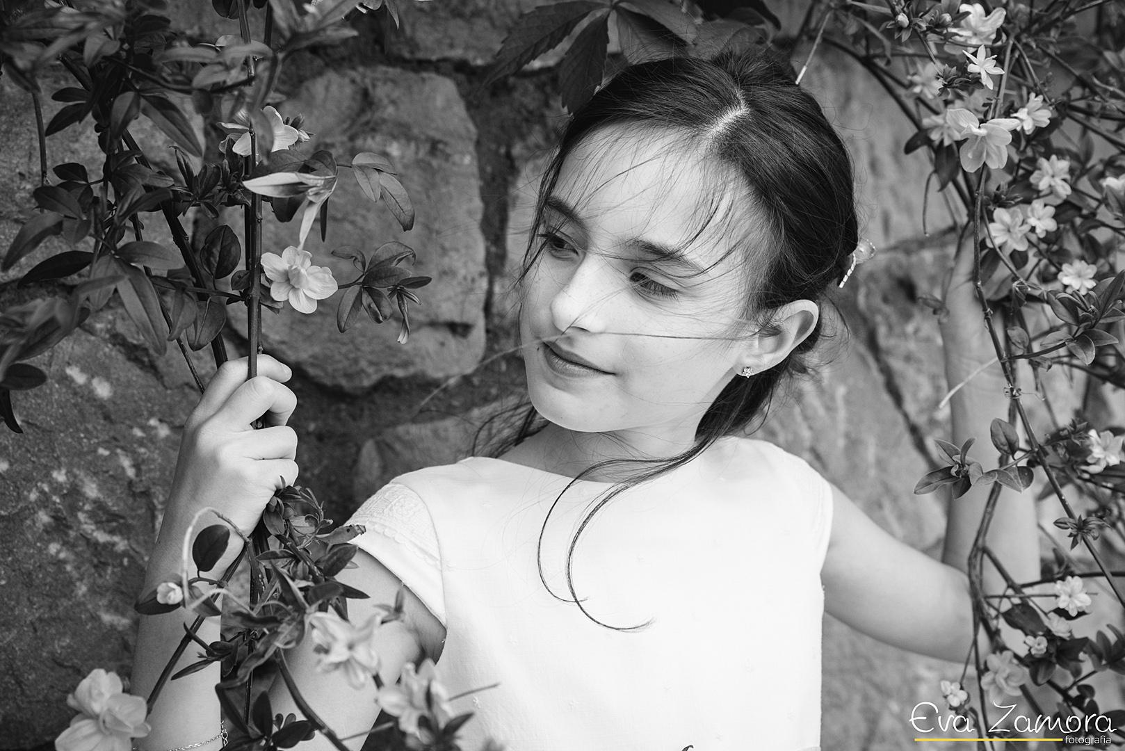 Reportaje fotográfico de comunión en Alquezar
