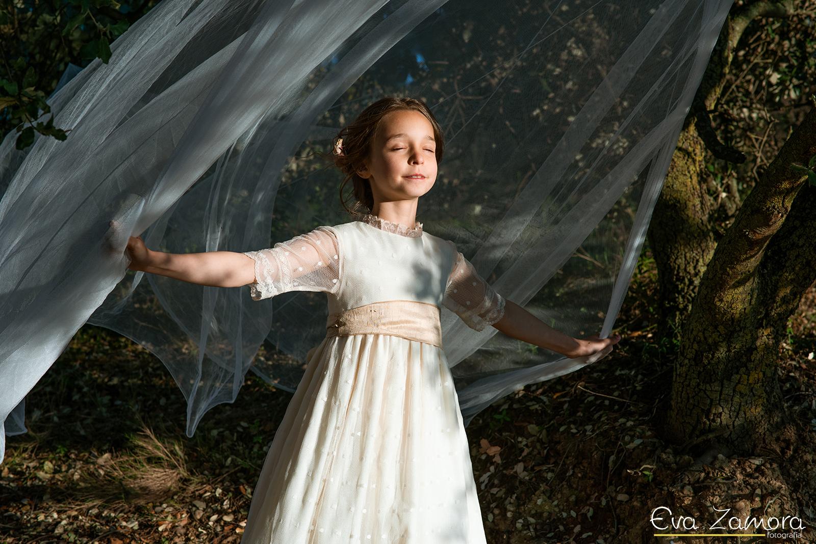 Sesión fotográfica Comunión Noa - Eva Zamora fotografia